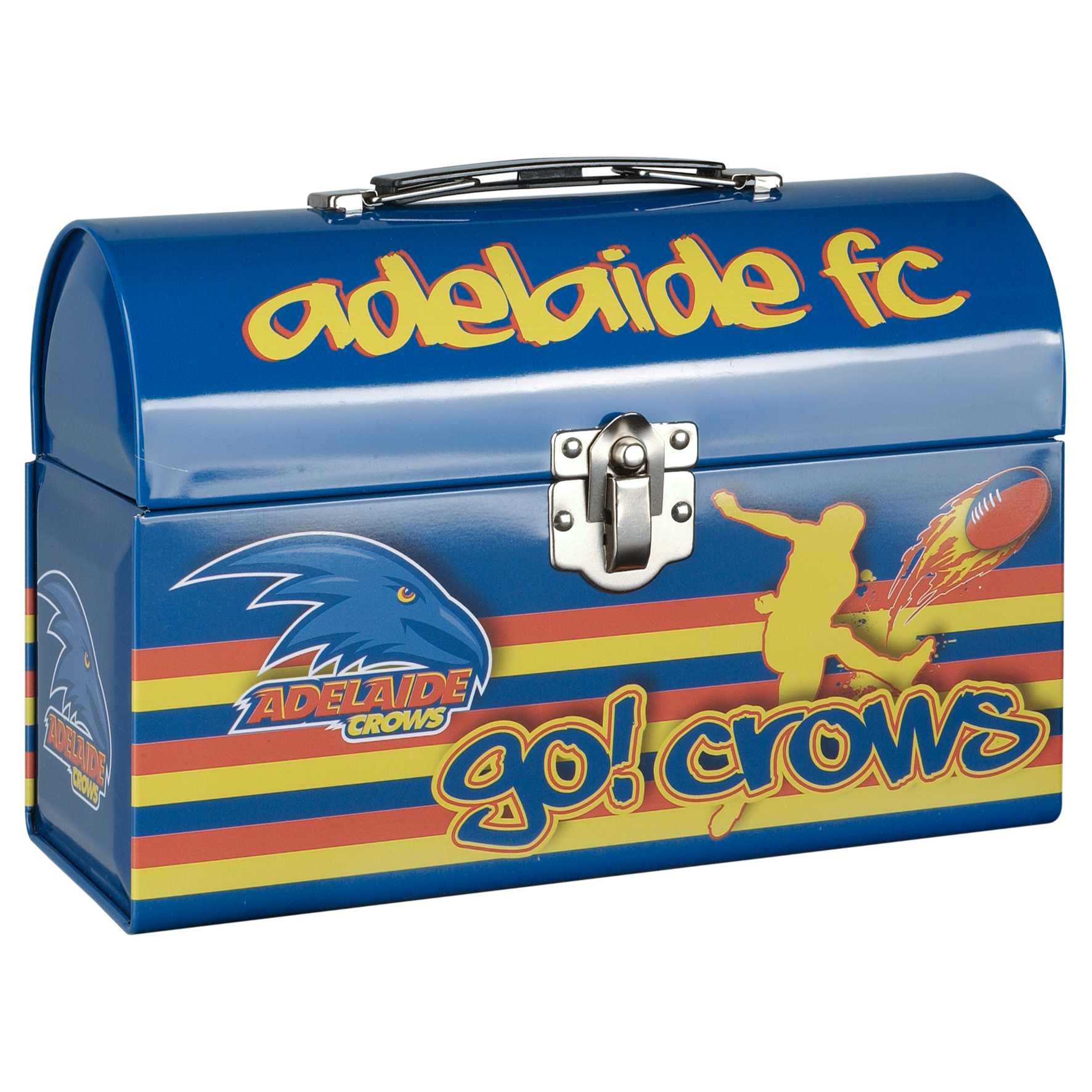 Adelaide-Crows-AFL-Tin-Tote-Collectors-Tin-Lunch-Box