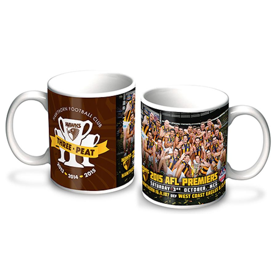 Hawthorn Hawks Afl Premiers  Premiership Player Image Coffee Cup