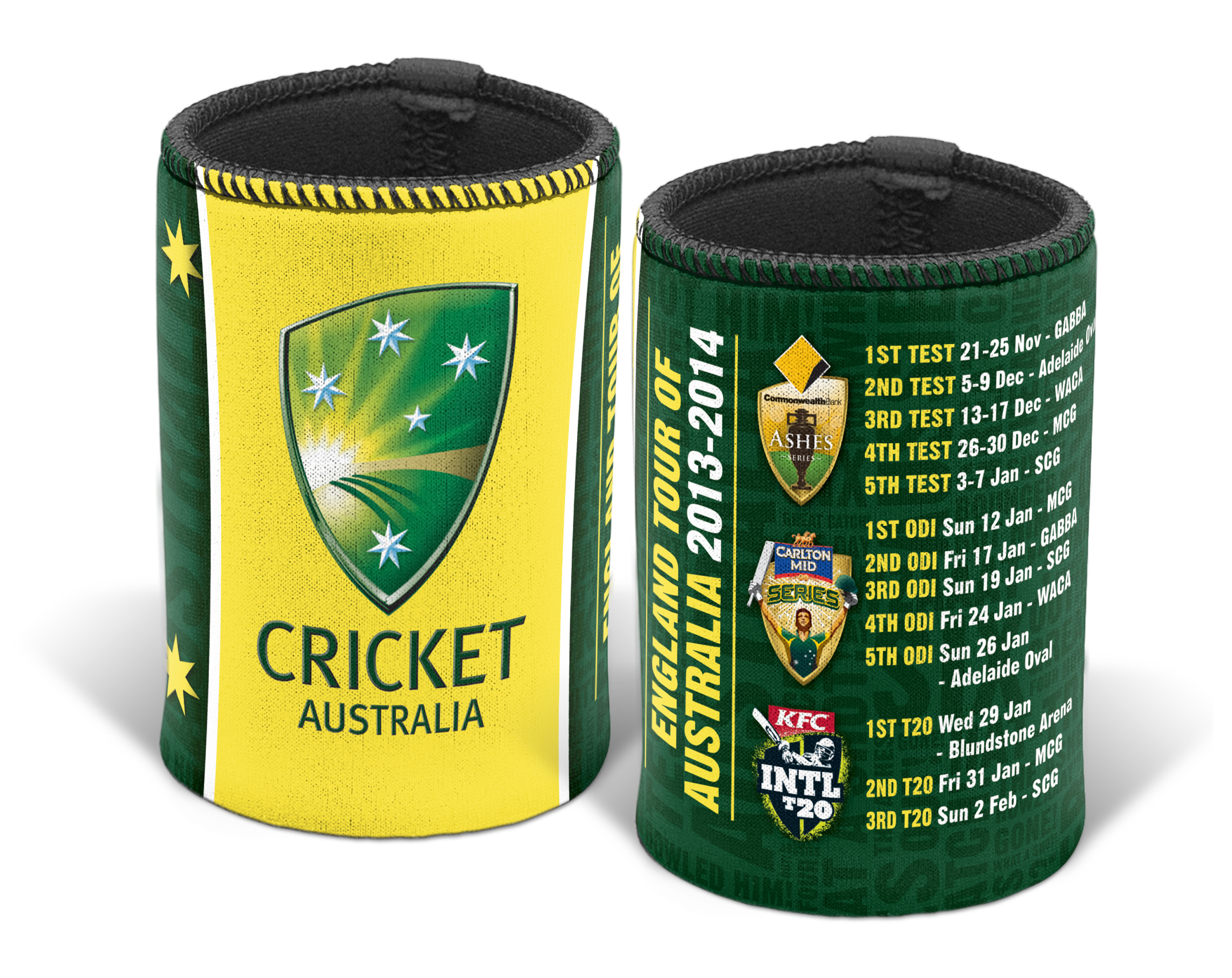 Cricket-Australia-Test-Cricket-2013-Fixture-Stubby-Holder-Can-Cooler