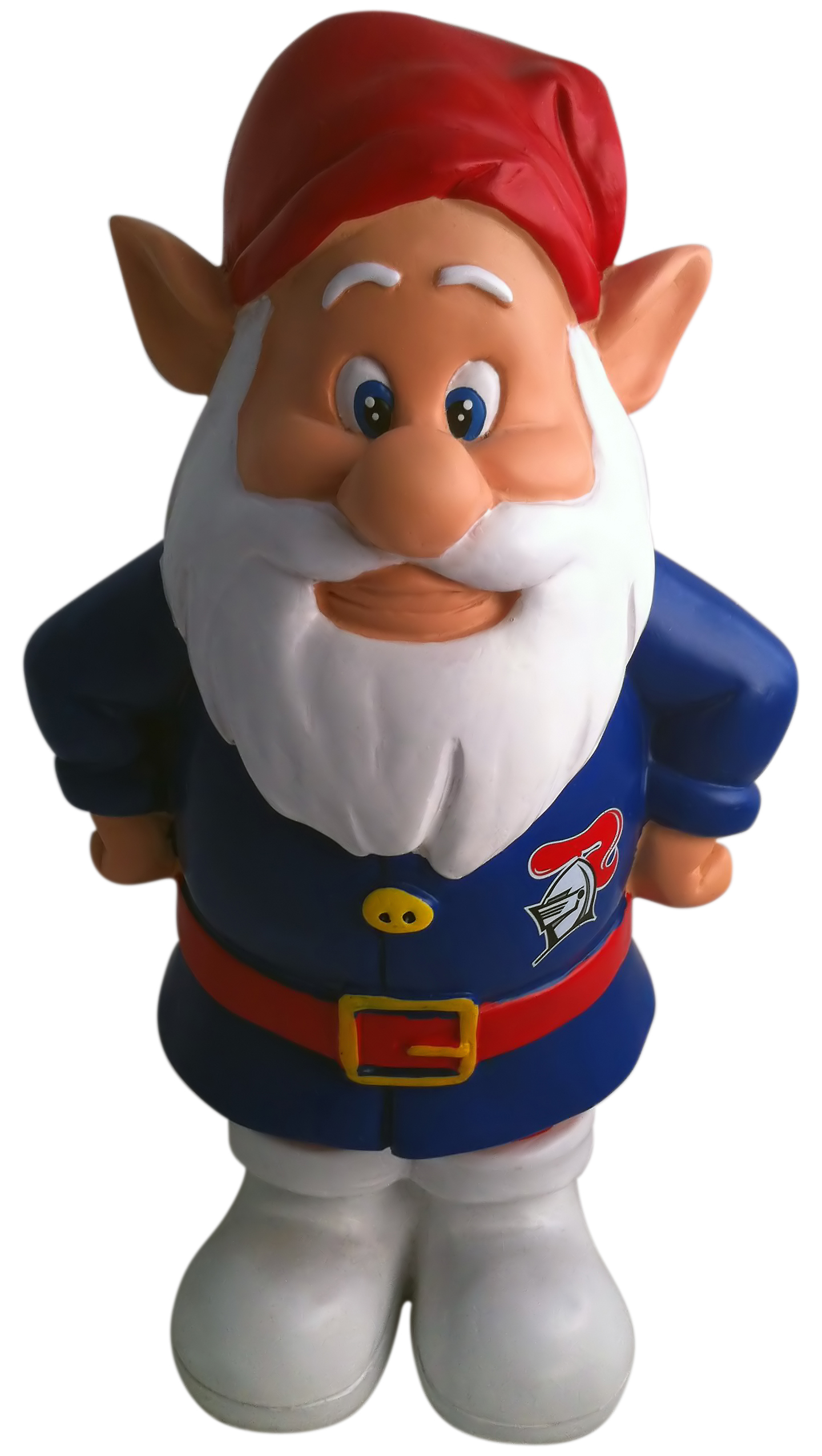 Newcastle-Knights-NRL-Garden-Gnome-In-Team-Colours-2012-Model