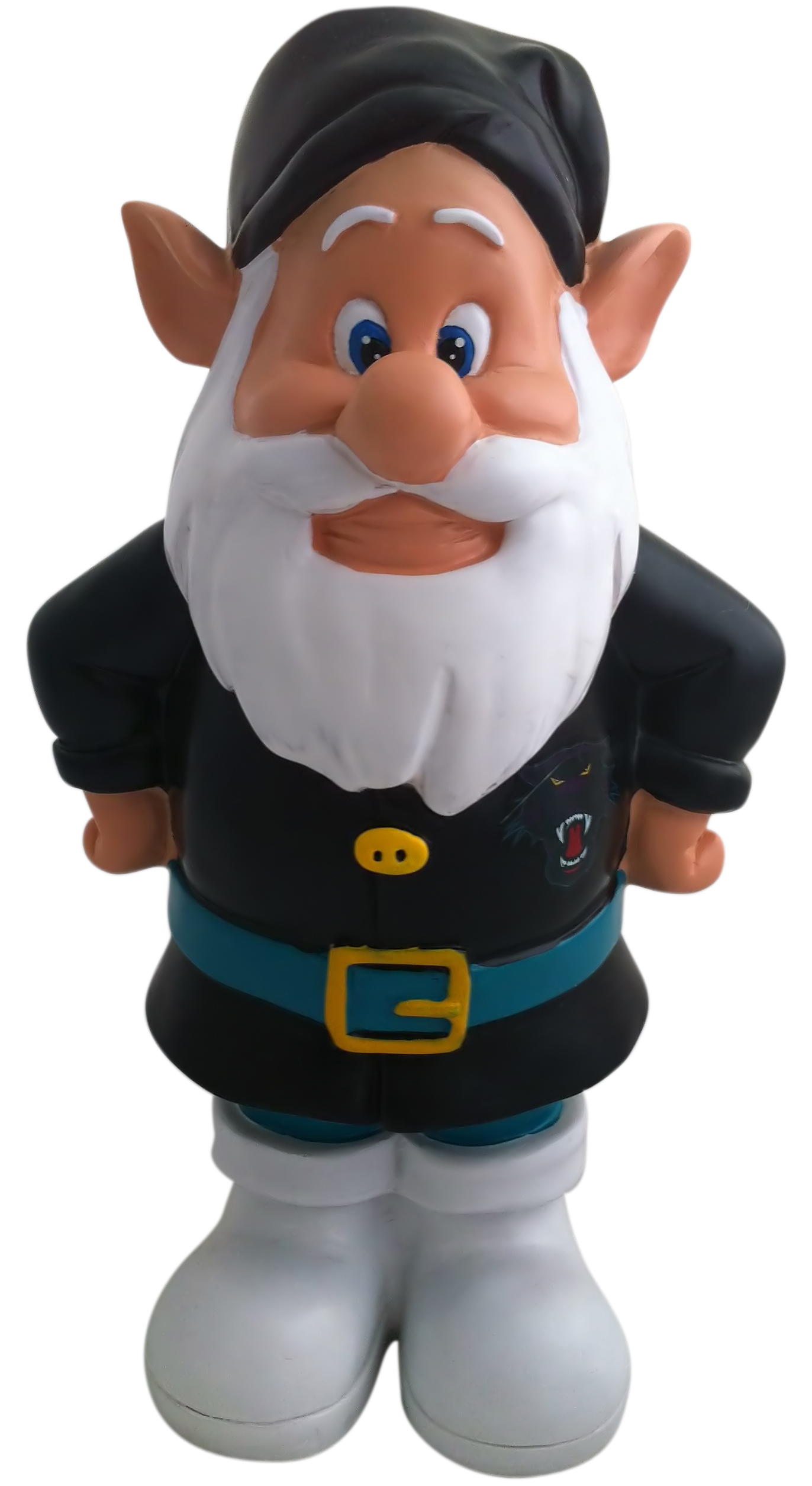 Penrith-Panthers-NRL-Garden-Gnome-In-Team-Colours-2012-Model