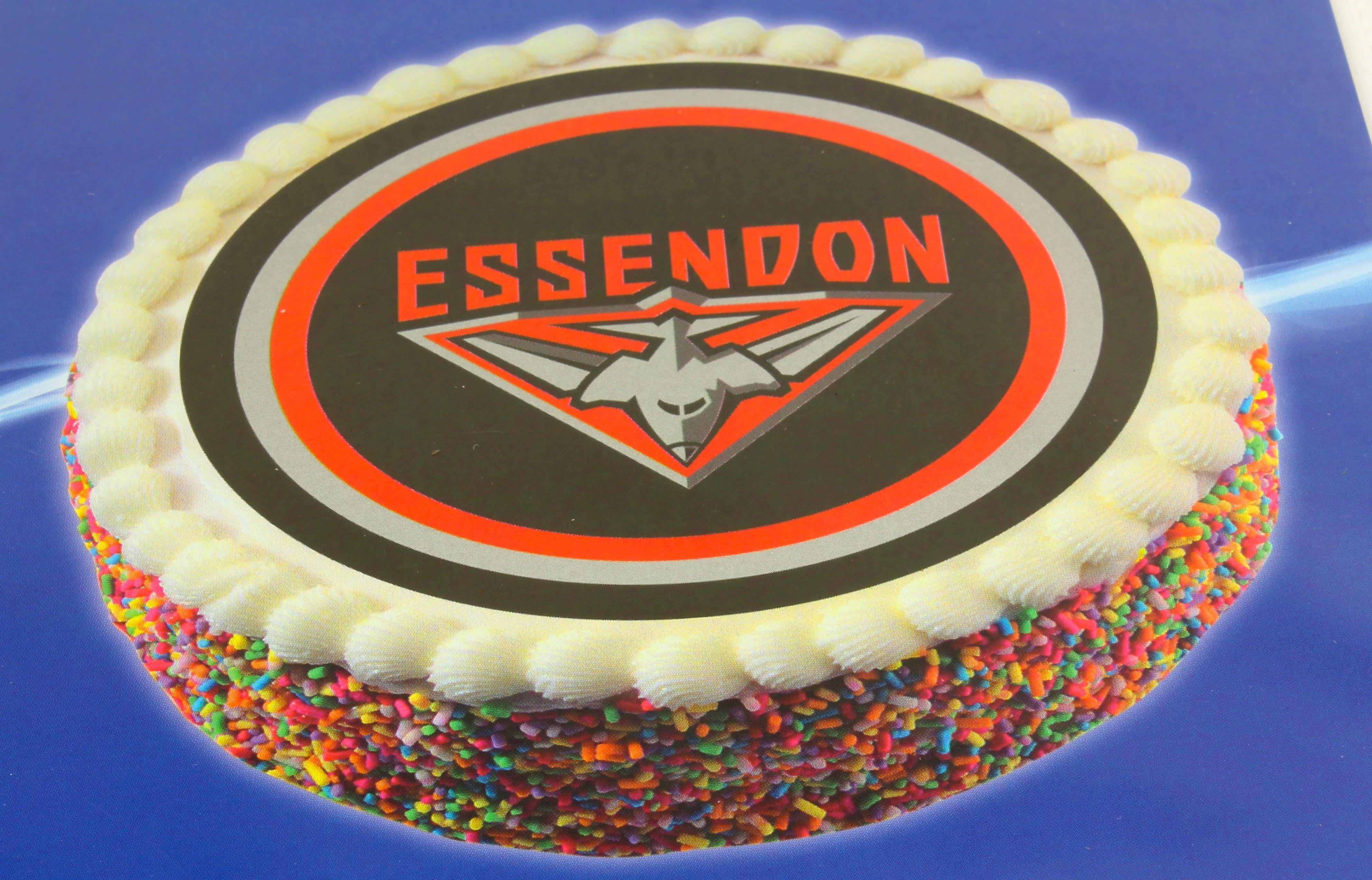 Essendon Cake Topper