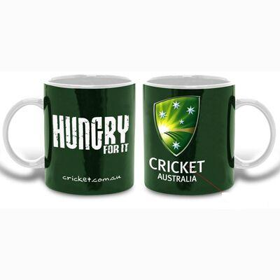 Cricket-Australia-Team-Logo-Green-Ceramic-Coffee-Cup-Mug