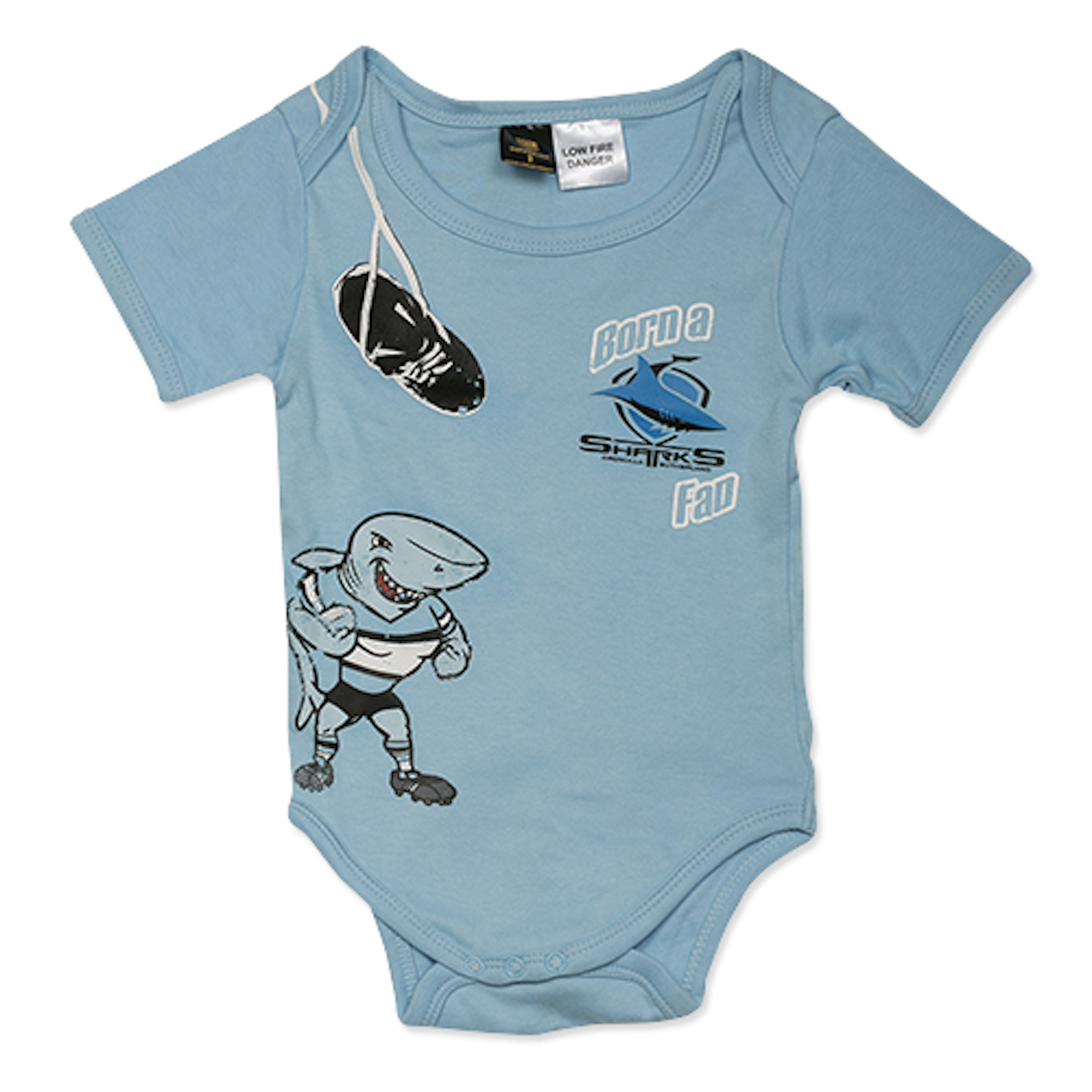 Cronulla Sharks NRL Baby Infants Bodysuit size 1