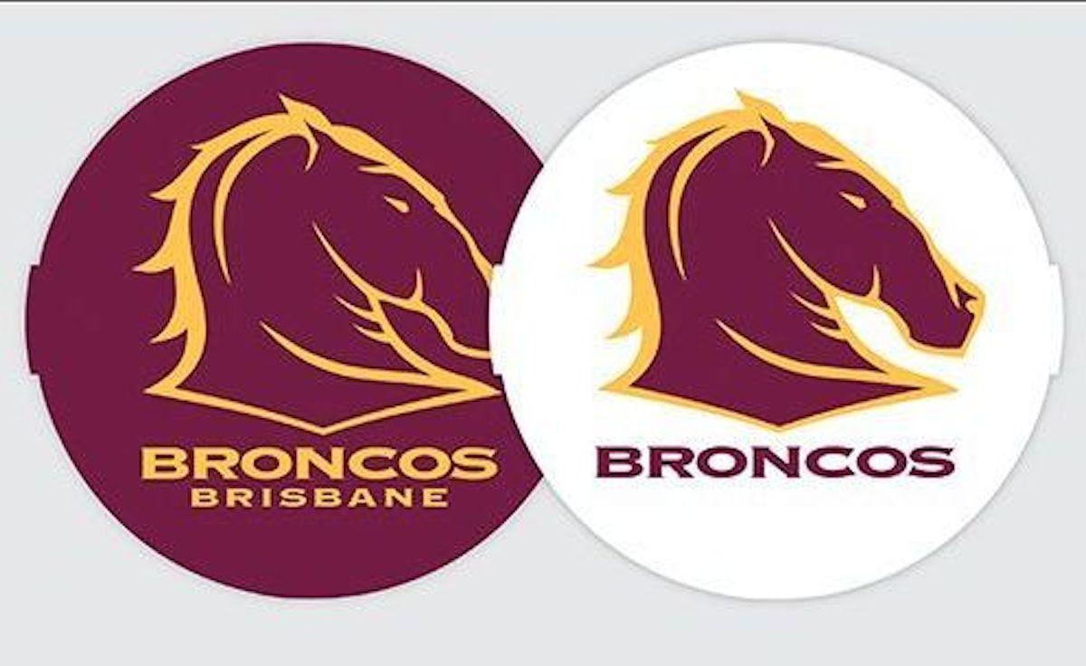 how to draw the brisbane broncos logo