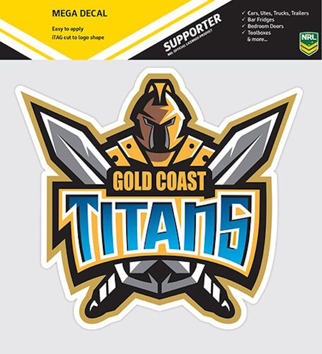 NRL Mega Team Logo Decal Stickers Pre Cut Great For Cars