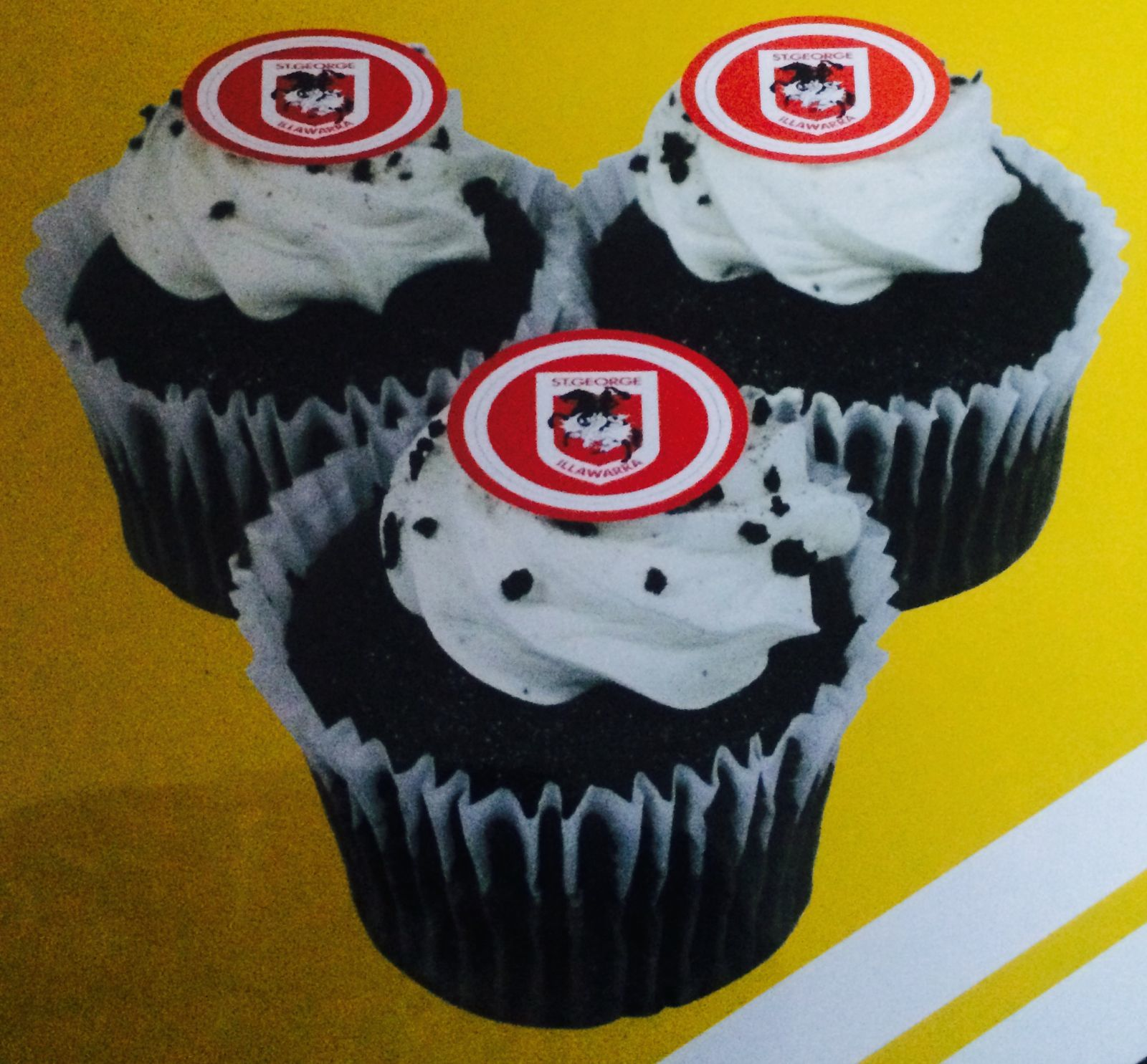 Manchester City Cup Cake Toppers