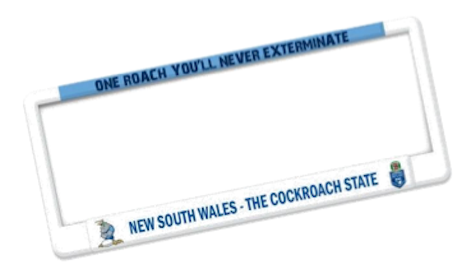 New South Wales State of Origin NRL Standard Car Number Plate Frames ...