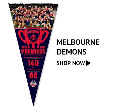 Melbourne Demons 2021 Premiership winners merchandise